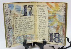 18th Birthday Altered Book by  Tami Sanders