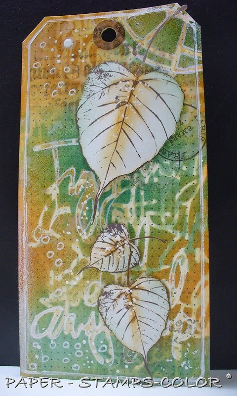 Layering Stencils by Ellie Knol **The Crafters Workshop