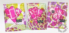 ATC's for Valentine's Day by Tami Sanders