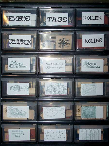 Organized Stamps