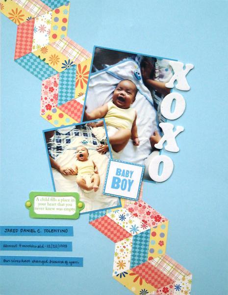 XOXO Baby Boy