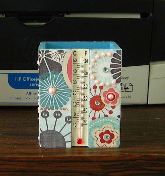 Crafty Summer Project #2: Blinged-out pencil holder
