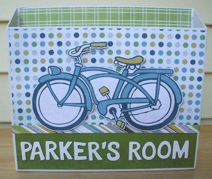 Parker's Room Paper/Mail Holder
