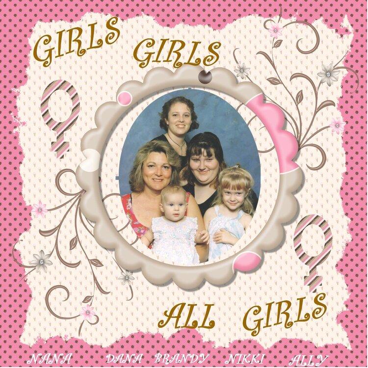 Girls Girkls All Girls