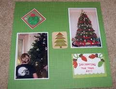 Decorating the tree