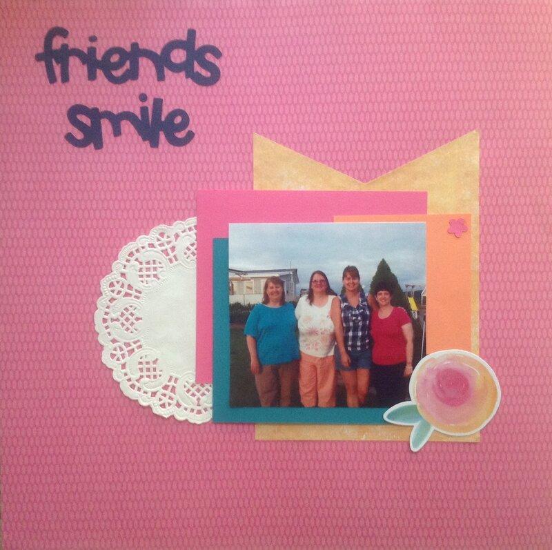 Friends smile