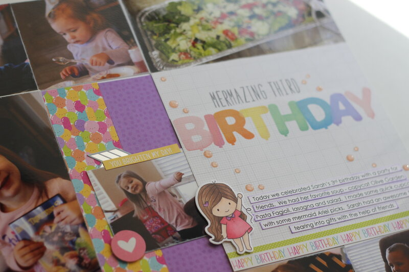 Mermazing 3rd Birthday