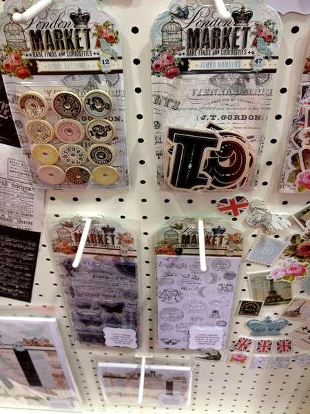 NEW Pink Paislee CHA - London Market Embellishments