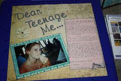 Dear Teenage Me...
