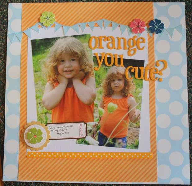 Orange You Cute?