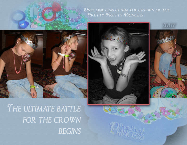 Pretty Pretty Princess: The Ultimate Battle for the Crown Begins