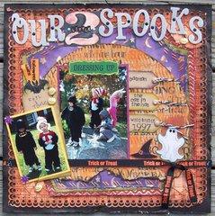 Our 2 Little Spooks