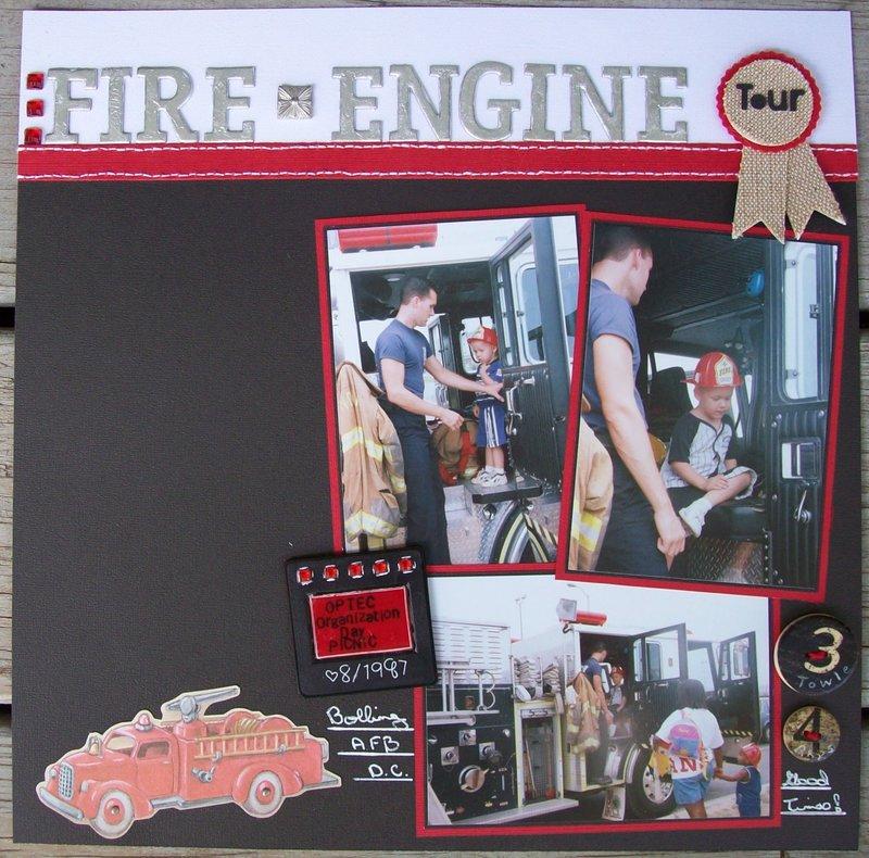 Fire Engine Tour