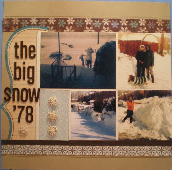 The Big Snow '78 pg 1