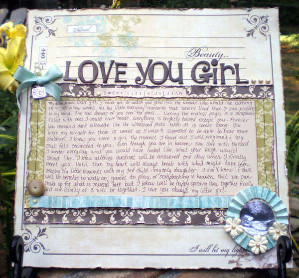 Love You Girl - Sweet Little Jillian