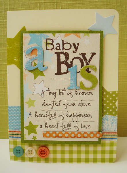 A Baby Boy Is...