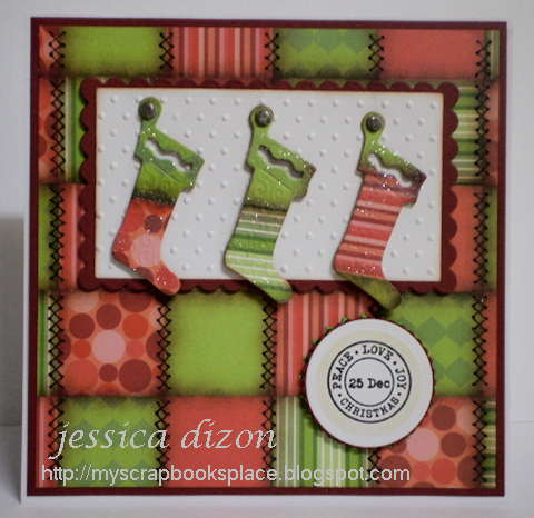 Christmas Stockings (Patchwork Challenge)