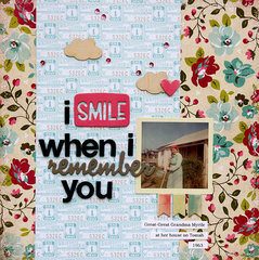 I Smile When I Remember You