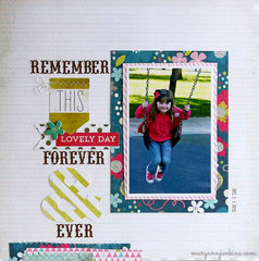 Remember This Lovely Day Forever - My Creative Scrapbook