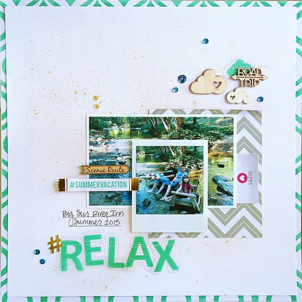 Relax - Chic Tags