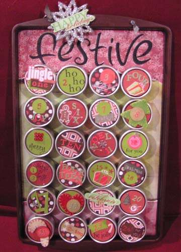 Holiday Advent Calendar for Stamping Friend