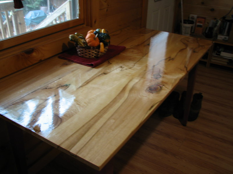 MY NEW KITCHEN TABLE