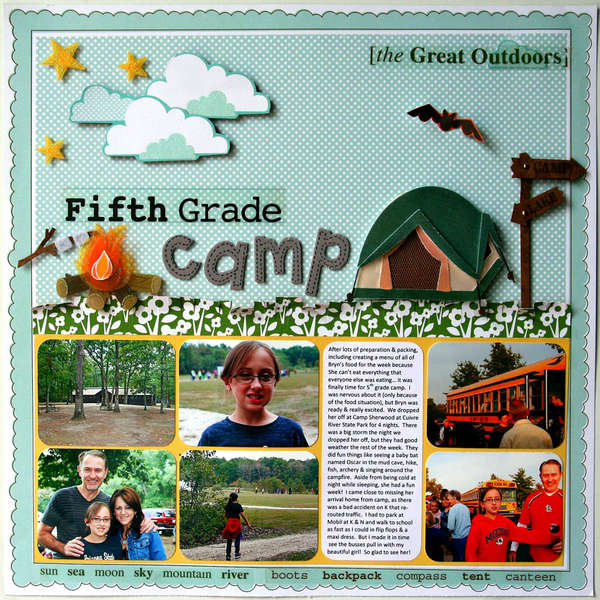 Fifth Grade Camp