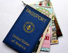 Passport mini book