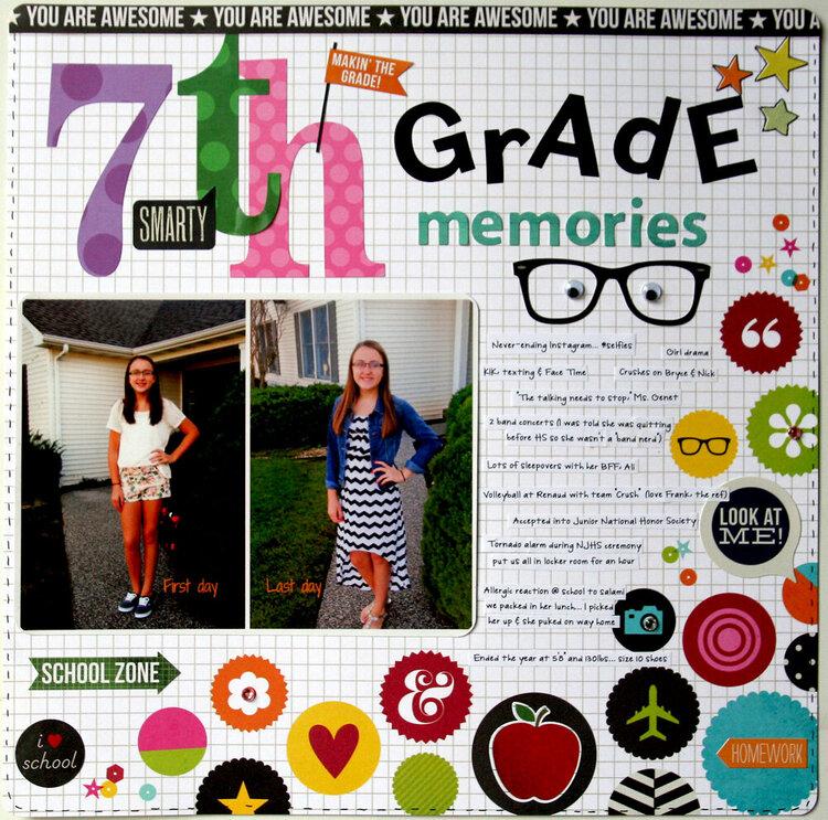 7th grade memories