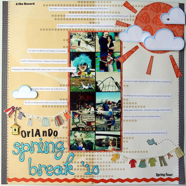 Orlando Spring Break '10