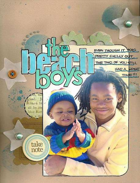 The Beach Boys-COLOR COMBOS GALORE (203) AUGUST GUEST DESIGNER