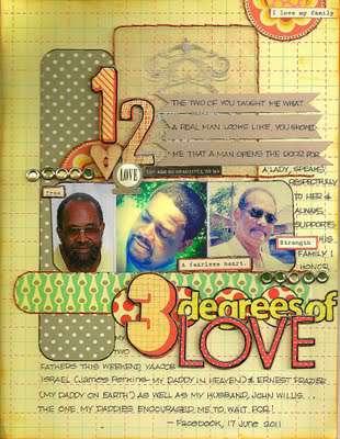 3 Degrees of Love-AUGUST KREATORVILLE KRAFT kit