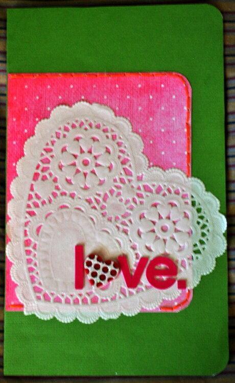 love. card for John