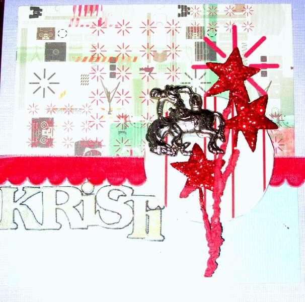 kristi's graduation card