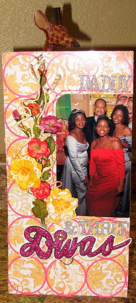 daddy and three divas-APTLY TITLED