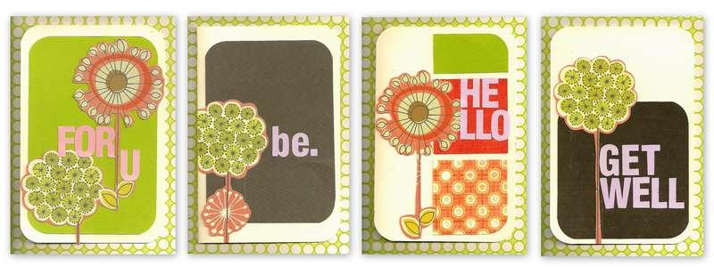 SEI Card Set #1-GONE SCRAPBOOKING CREATIVE WORK