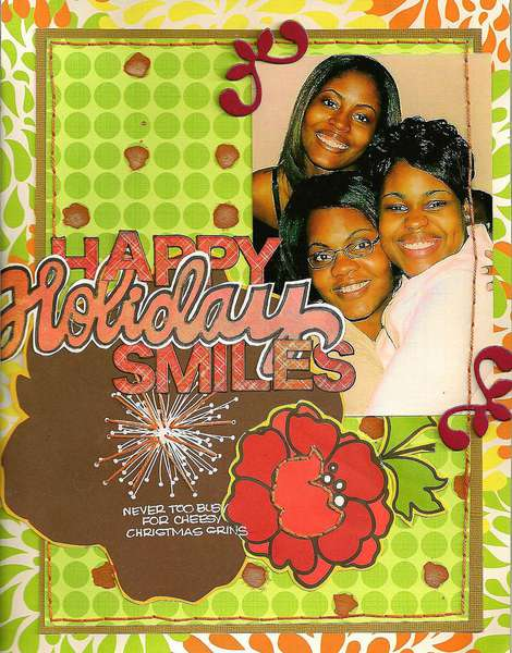 happy holiday smiles-APTLY TITLED