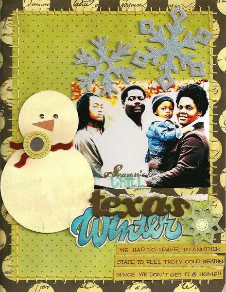 texas winter-KREATORVILLE KRAFT DECEMBER KIT