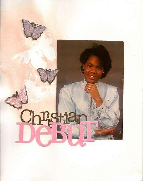 Christian Debut