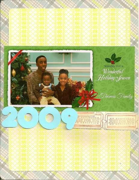 Thomas Family 2009