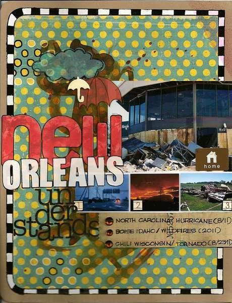 New Orleans understands-MASTERFUL SCRAPBOOK DESIGN
