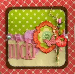 Nicki Card-PLATINUM SCRAPS