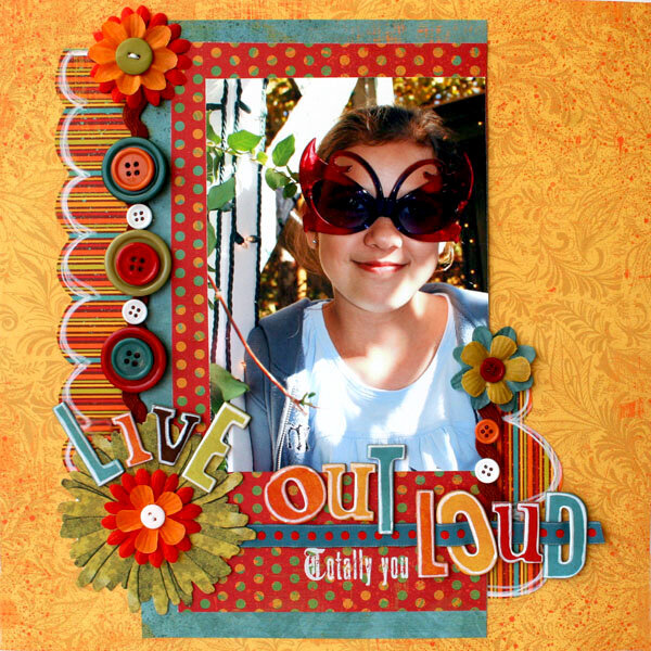Live Out Loud * Daisy D's Autumn collection*