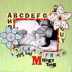 Monkey Toes * Daisy D's Bambino collection*