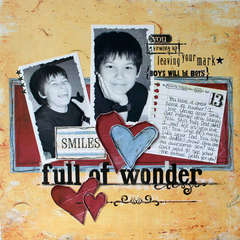 Full of Wonder *Daisy D's Chasing Butterflies collection*
