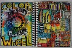 Art journaling with Maja Design's Vintage Autumn Basics