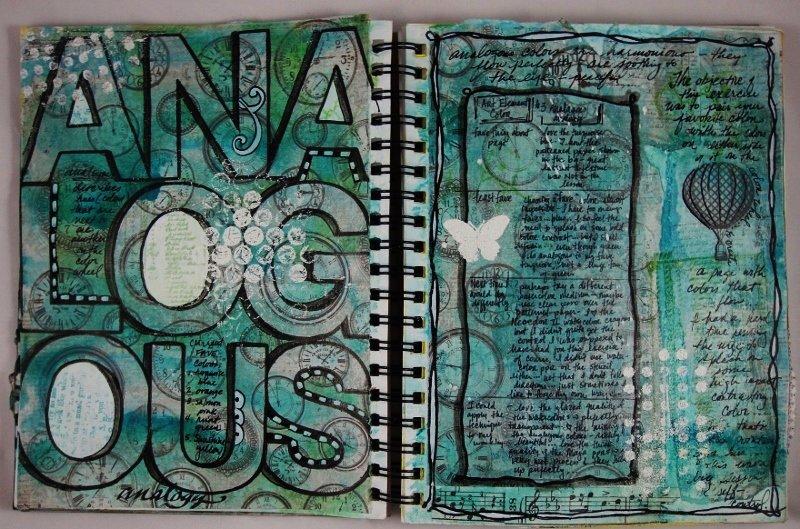 Art Journaling Analogous - Maja Design