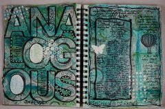 Art Journaling Analogous - Maja Design