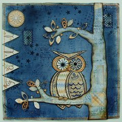 Night Owl - Maja Design & Blog Give-away