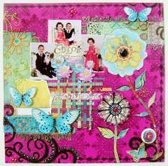 You Color My World - Scraps of Darkness July Marrakesh Express kit